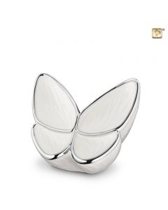 BF 003 S Brass small urn Butterfly