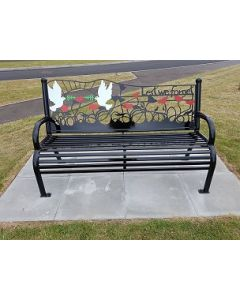 Bespoke steel benches